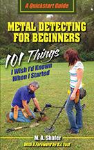 Metal Detecting for Beginners book