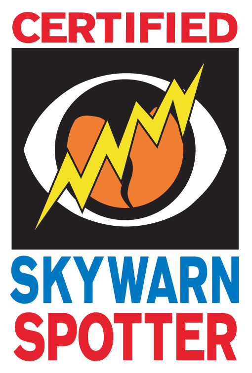 Certified Skywarn Weather Spotter logo