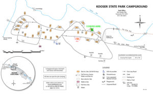 Kooser State Park Campground Map