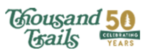 Thousand Trails logo