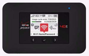 Verizon Wifi Jetpack