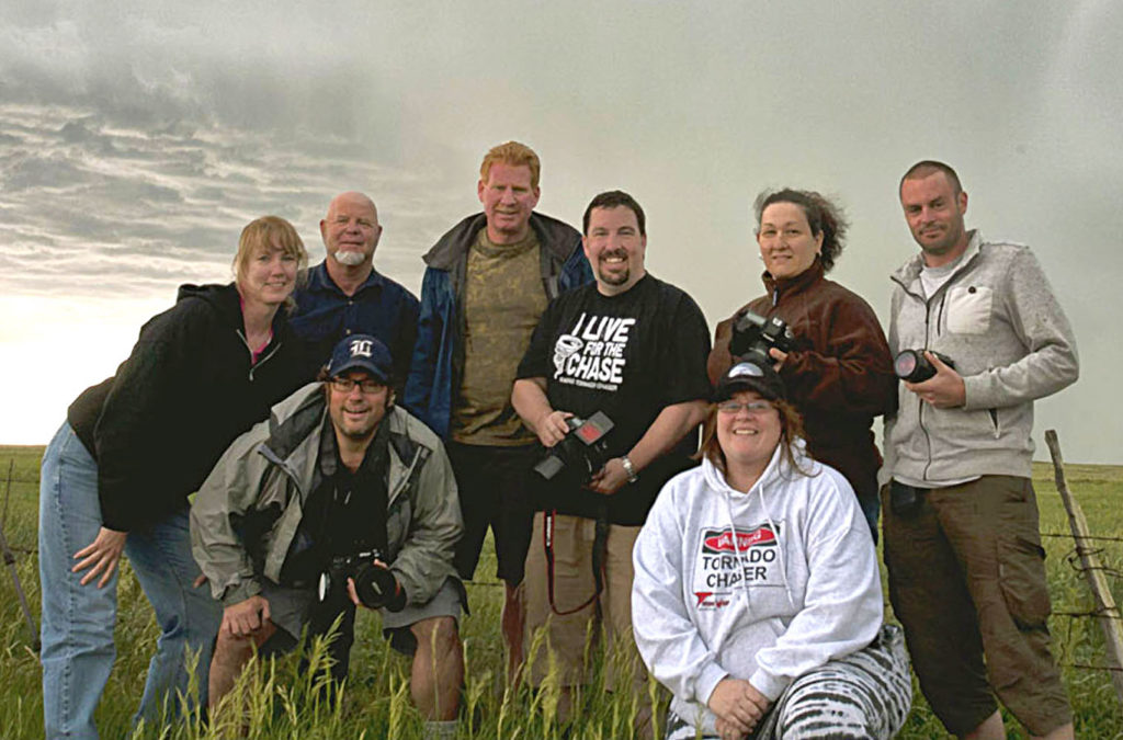 Mary's storm chasing group