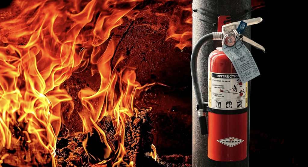 Fire & Extinguisher