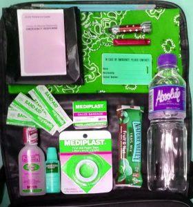 sample go bag contents
