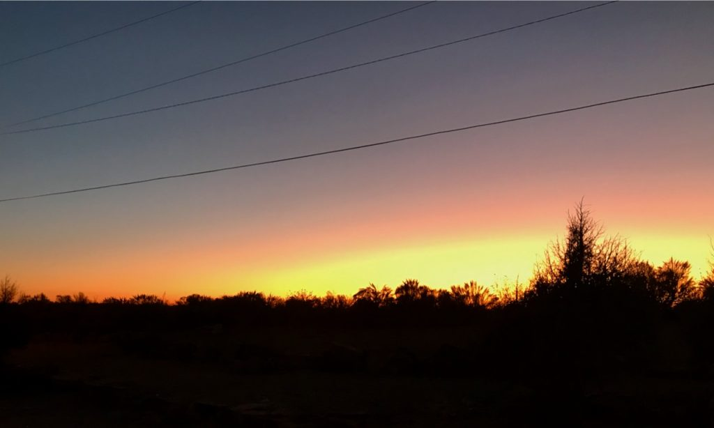 Taking Stock: I've enjoyed a multitude of gorgeous sunsets from my workamping site in southeastern Colorado.
