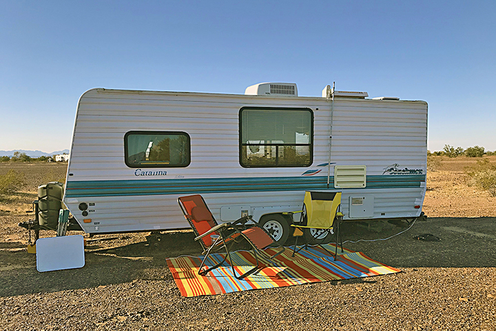 Taking stock: my current travel trailer
